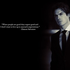 Free The Vampire Diaries Damon phone wallpaper by whiskey91