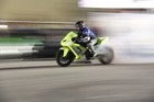 iCONs Nick Apex riding a Ninja ZX10