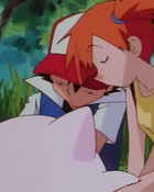 Ash and Misty wallpaper 1