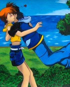 Ash and Misty