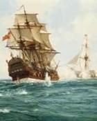 Royal Navy Captures Spanish Treasure ship