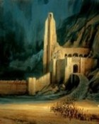 Helms Deep wallpaper 1