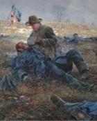 Angel of Mayre's Heights-Battle of Fredericksburg wallpaper 1
