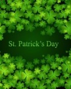 Happy St. Patrick's Day-Shamrocks