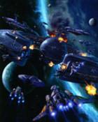 Star Wars-Pirates Attack Trade Federation Ships wallpaper 1