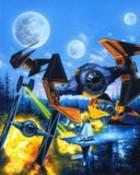Rogue Squadron-Battle on Halmad
