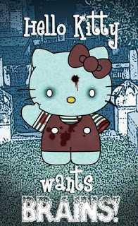 Free hello-kitty-zombie-brains.jpg phone wallpaper by grumpybear1010