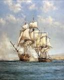 Free Montague Dawson-Smoke of Battle phone wallpaper by ring_tone_master