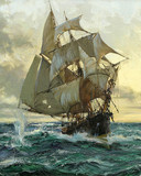 Free Montague Dawson-The Smuggler phone wallpaper by ring_tone_master