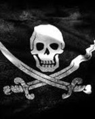 Jolly Roger-Black Flag