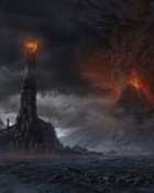 Lord_of_the_Rings-Barad Dur_Mt Doom wallpaper 1