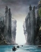 Lorrd of the Rings-Argonath wallpaper 1