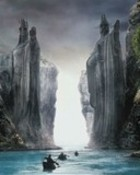 Lord of the Rings-Argonath wallpaper 1