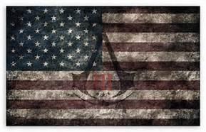 Free Assassins Creed 3 American flag.jpg phone wallpaper by sillysilverbar