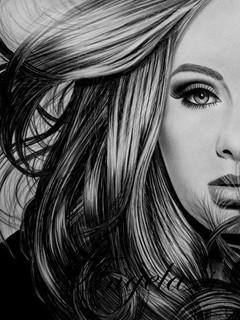 Free Adele phone wallpaper by meeko098098098