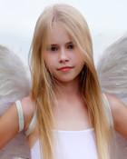 Hanna F white fairy wallpaper 1