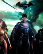 Superman Batman Wonderwoman