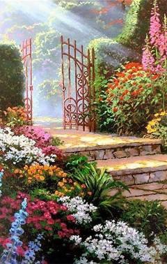 Free Heavens Garden phone wallpaper by bearyfine