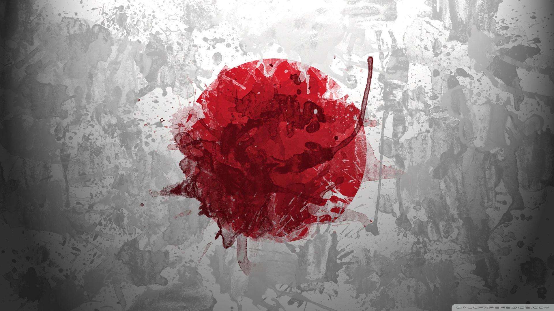 Free Japan flag phone wallpaper by kenters289