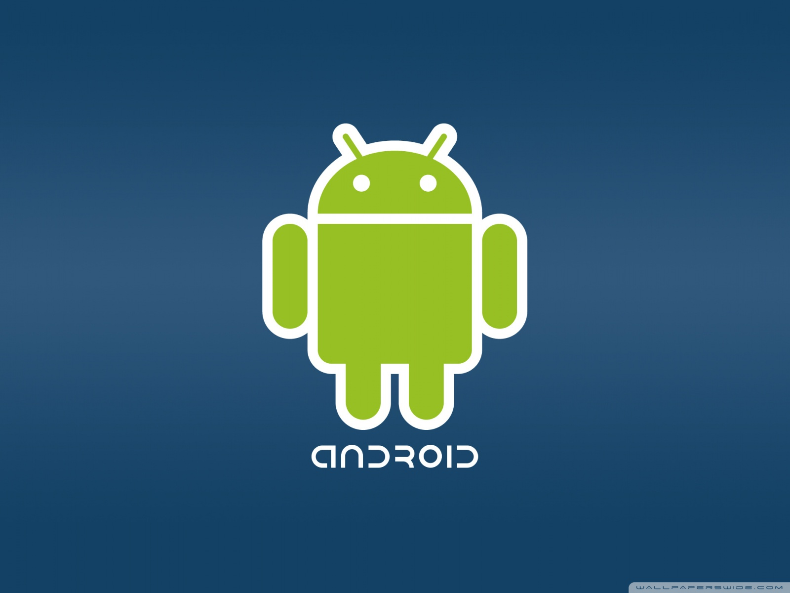 Free Android logo phone wallpaper by owiggins