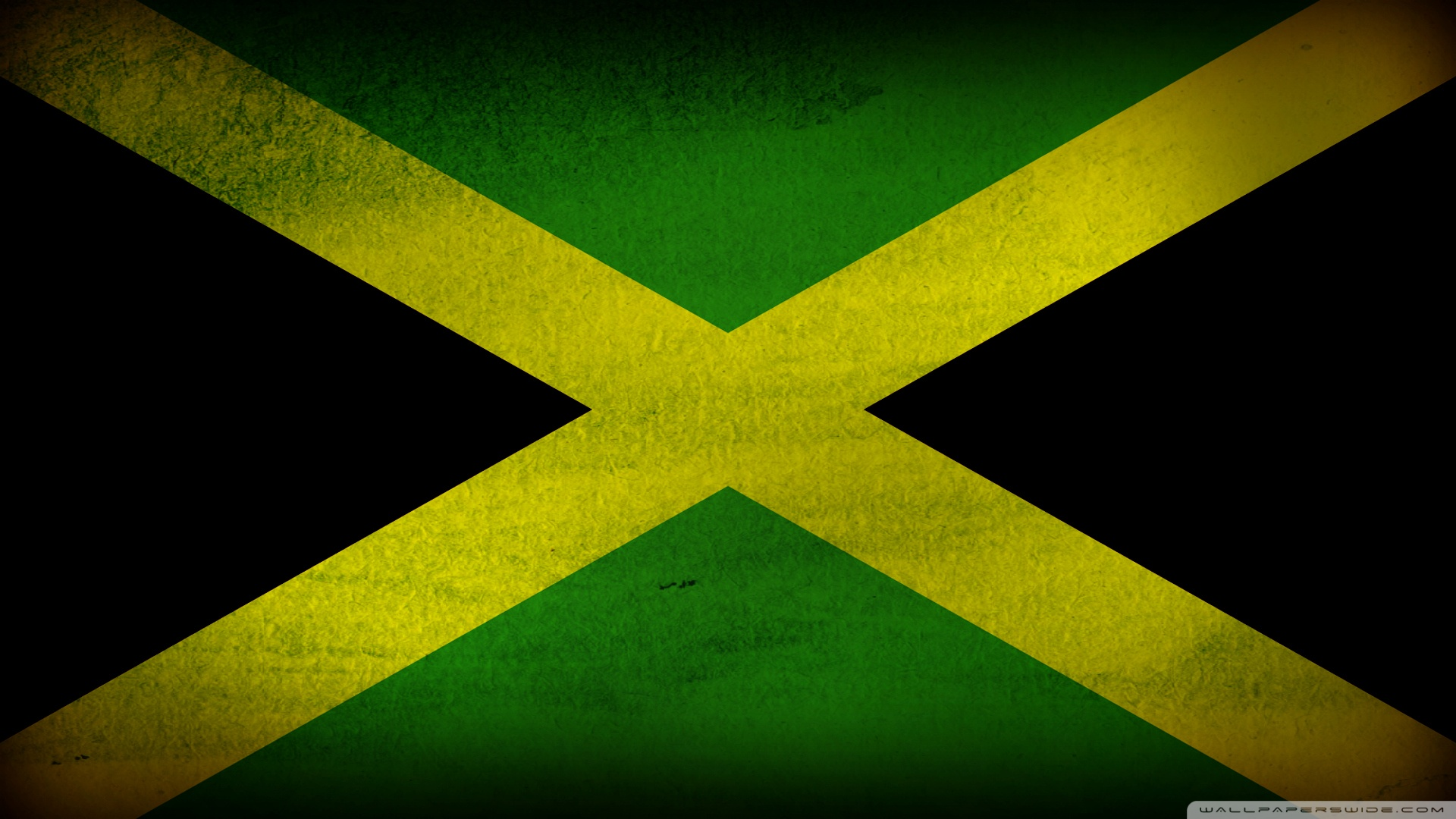 Free Jamaican flag phone wallpaper by curly_di