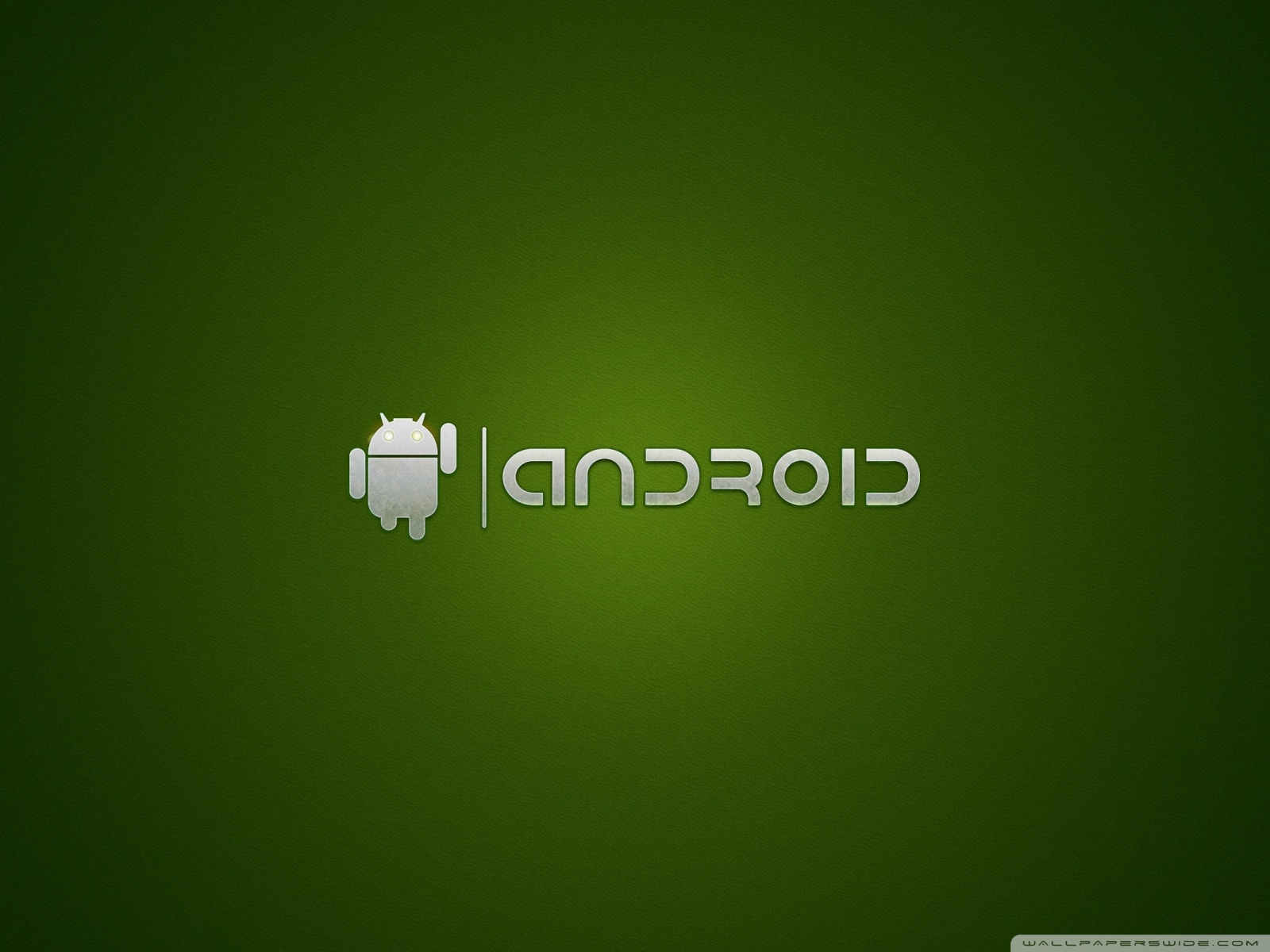 Free Android logo greem phone wallpaper by supersoccerfreak143