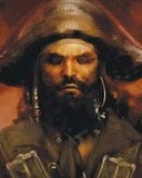 Free Blackbeard phone wallpaper by tortuga1715