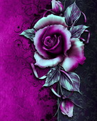 Vintage Purple Rose.jpg