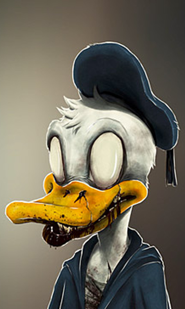 Free Zombie Donald.jpg phone wallpaper by twifranny