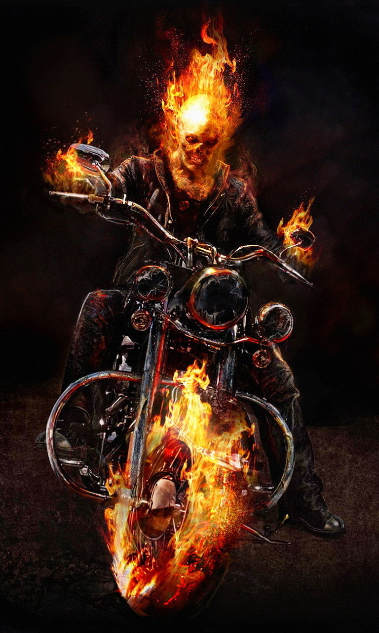 Free Ghost Rider.jpg phone wallpaper by twifranny