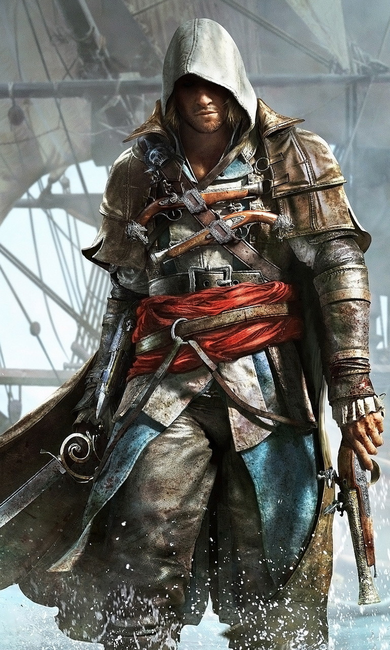 Free Assassins Creed 4.jpg phone wallpaper by twifranny