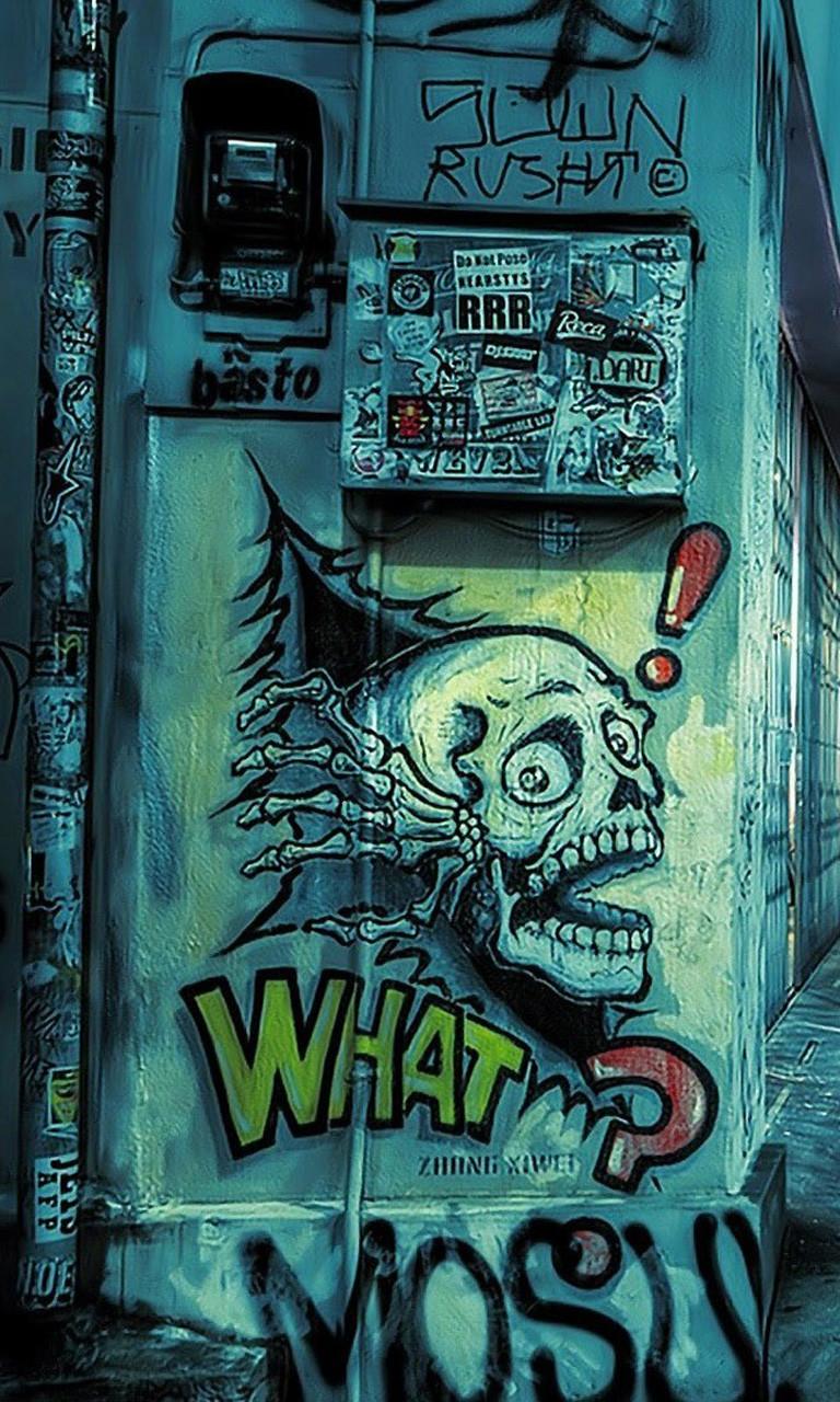 Free Street Graffiti.jpg phone wallpaper by twifranny