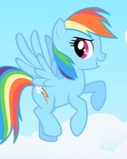 Rainbow Dash cloudsdale wallpaper 1
