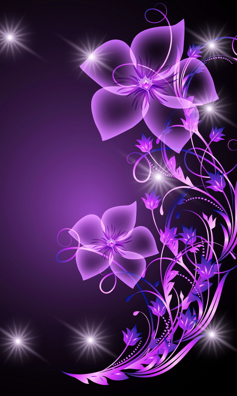 Free Purple Abstract.jpg phone wallpaper by twifranny