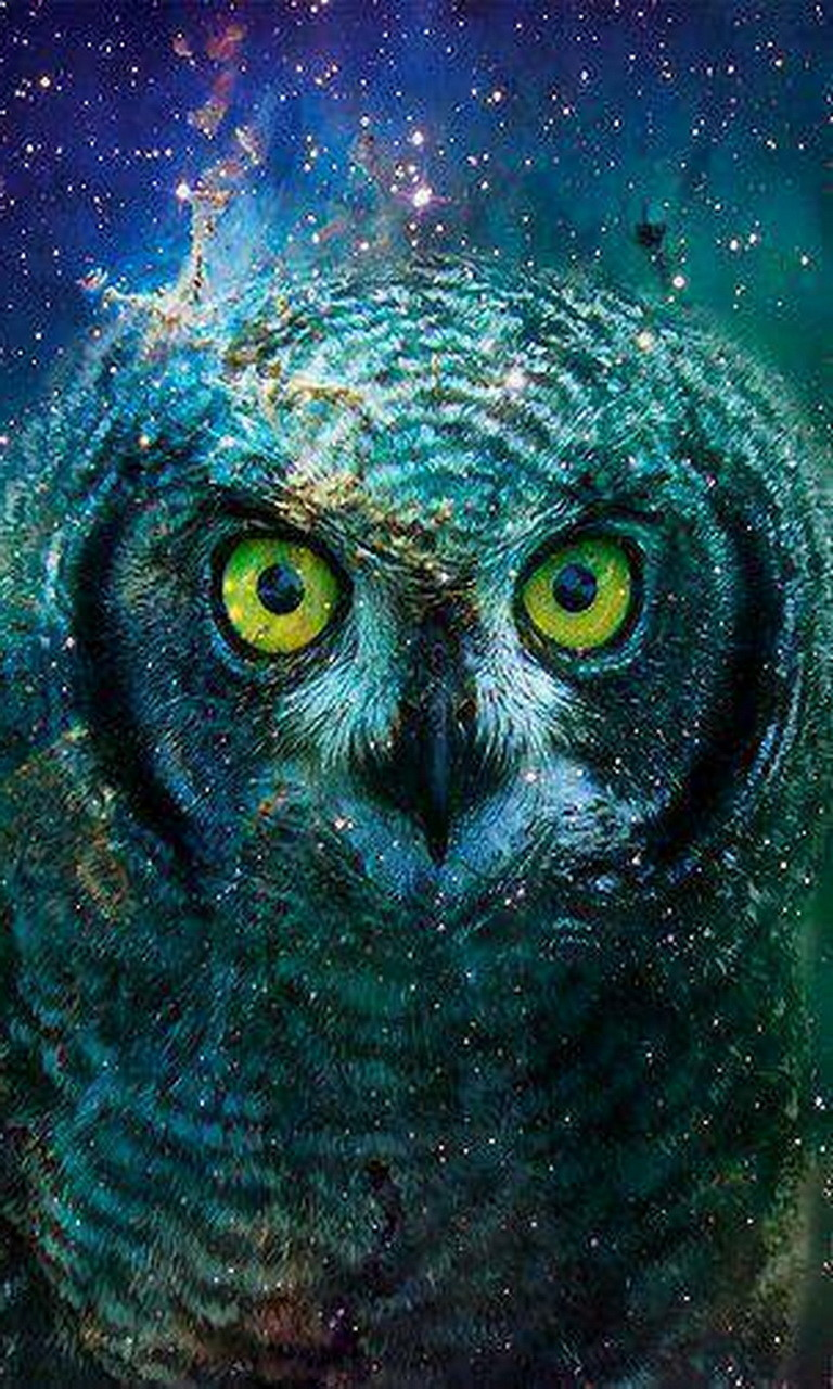 Free Abstract Owl.jpg phone wallpaper by twifranny