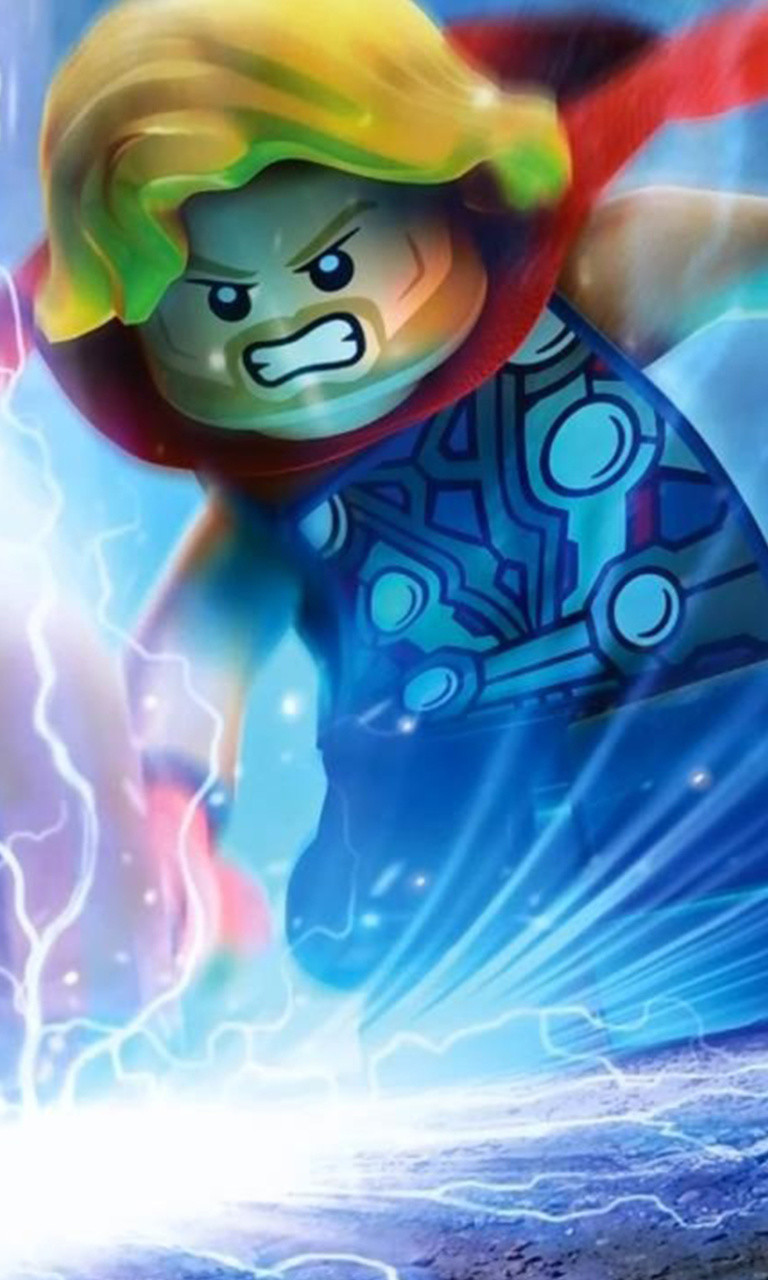 Free Lego Thor.jpg phone wallpaper by twifranny