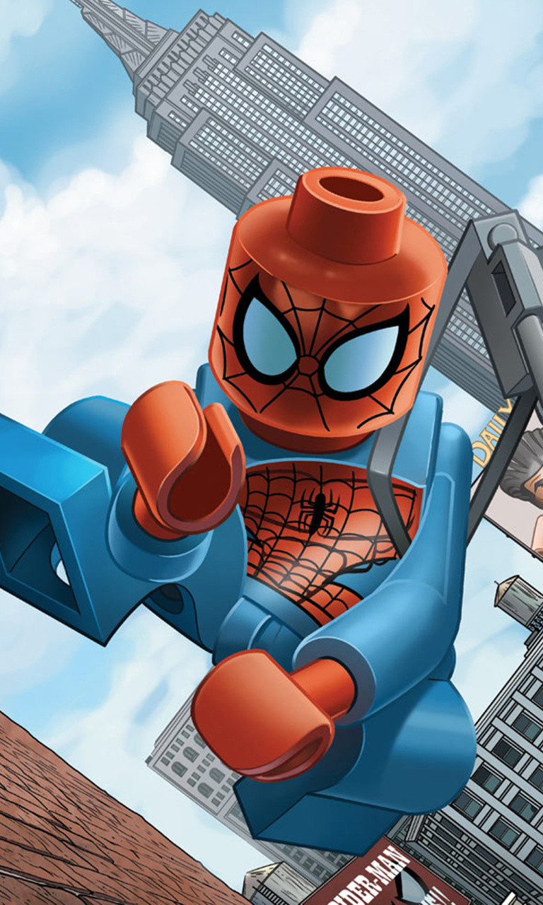 Free Lego Spiderman.jpg phone wallpaper by twifranny