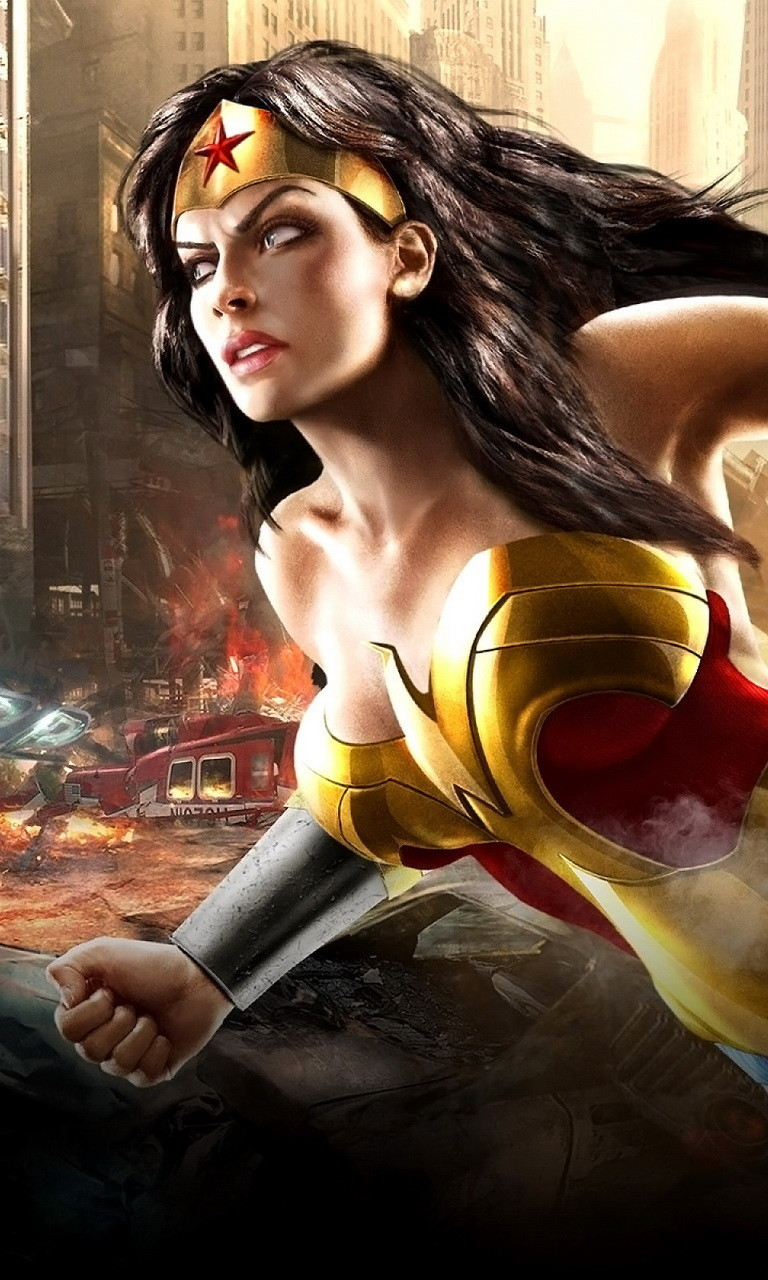 Free Wonder Woman.jpg phone wallpaper by twifranny