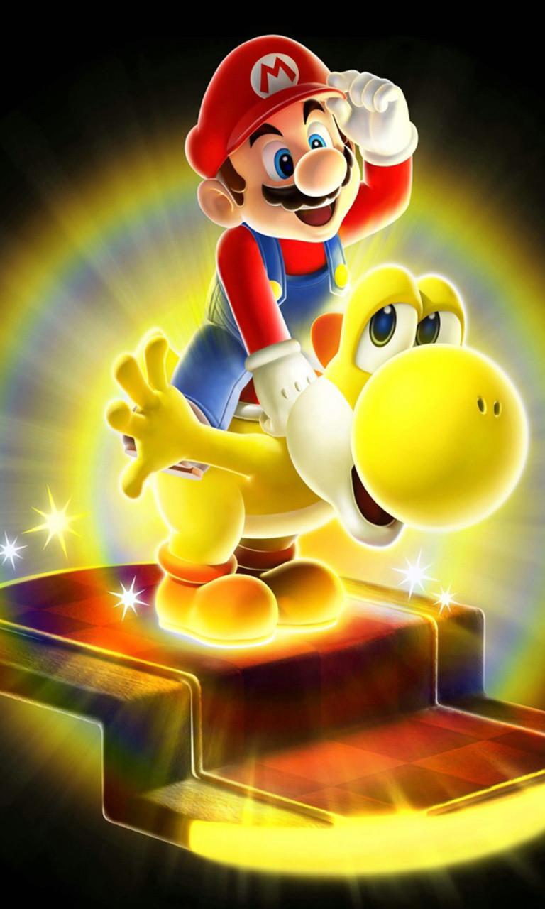 Free Mario and Yoshi.jpg phone wallpaper by twifranny