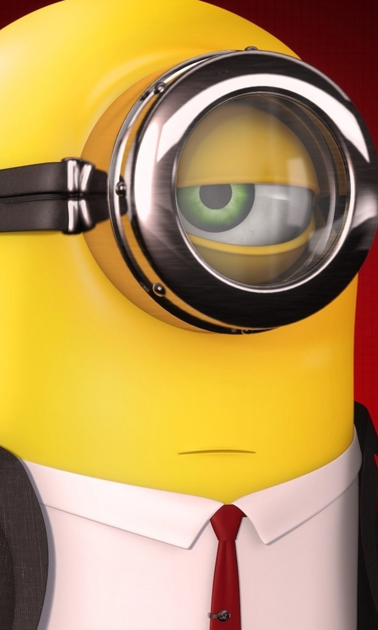 Free Serious Minion.jpg phone wallpaper by twifranny