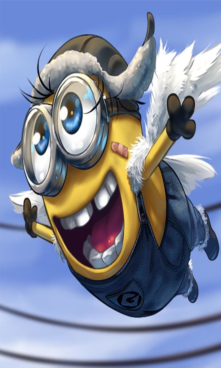 Free Flying  minion.jpg phone wallpaper by twifranny