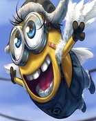 Flying  minion.jpg wallpaper 1