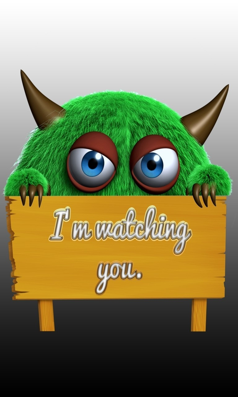 Free Im Watching You.jpg phone wallpaper by twifranny