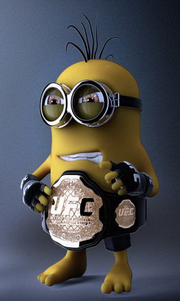 Free Wrestler Minion.jpg phone wallpaper by twifranny