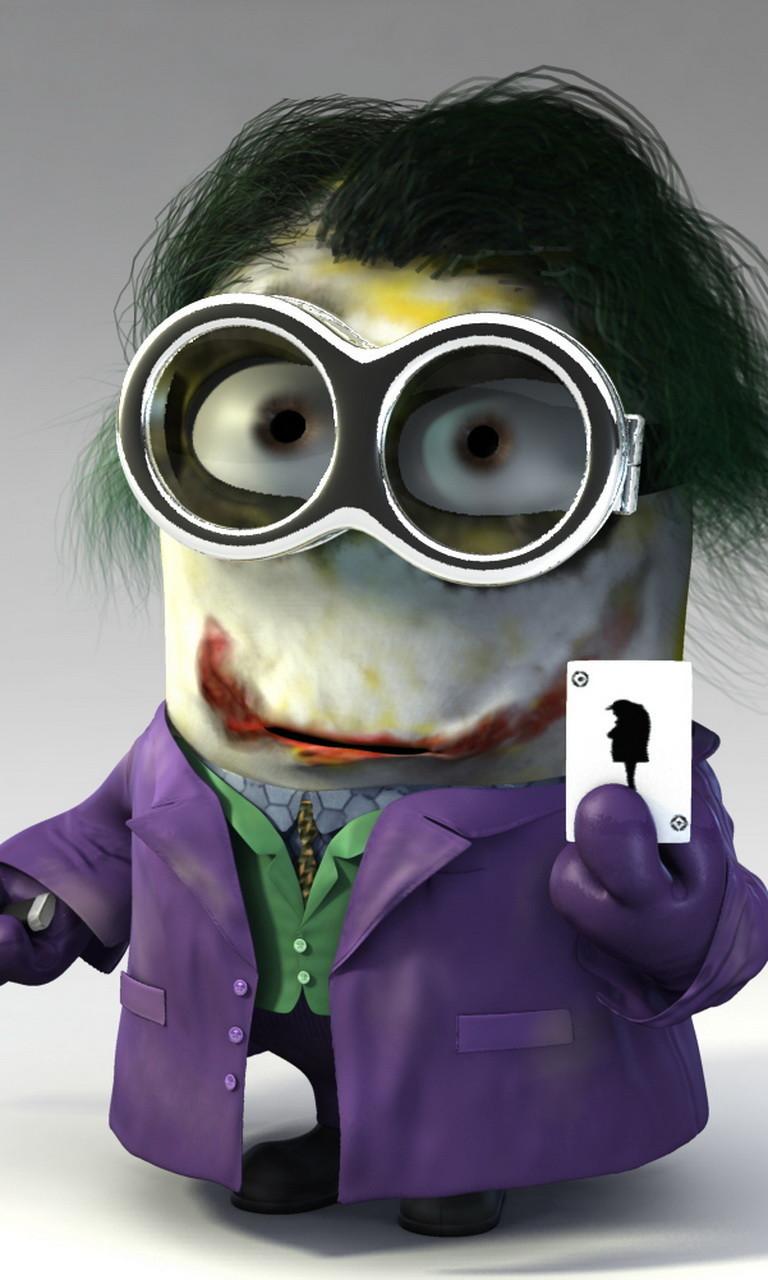Free Joker Minion.jpg phone wallpaper by twifranny