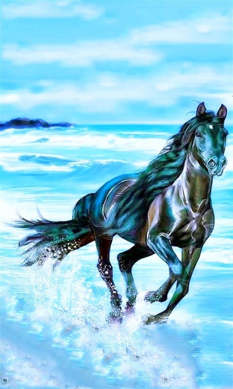 Free Horse.jpg phone wallpaper by twifranny