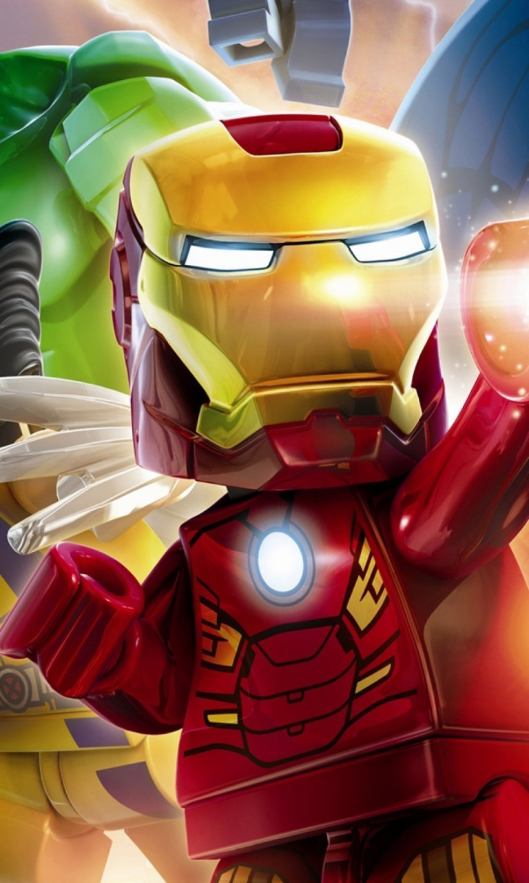 Free Lego Iron Man.jpg phone wallpaper by twifranny
