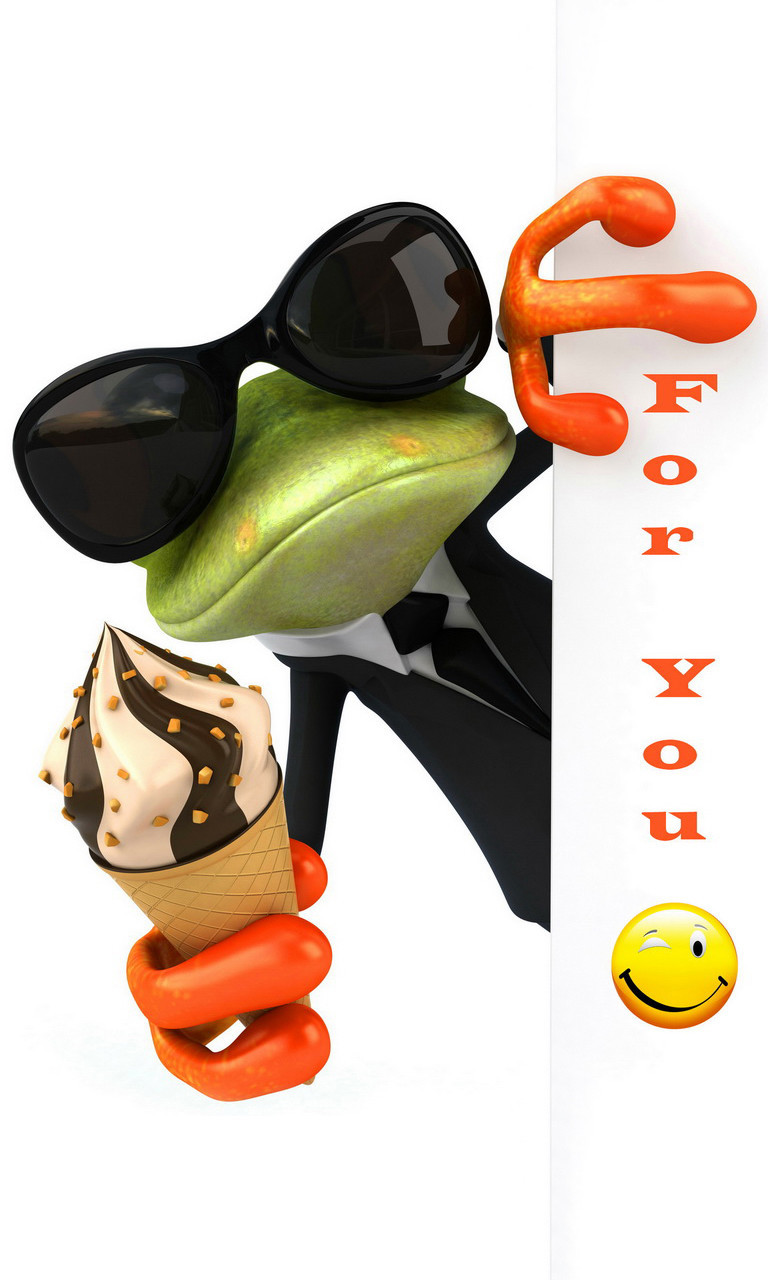 Free Funny Frog.jpg phone wallpaper by twifranny