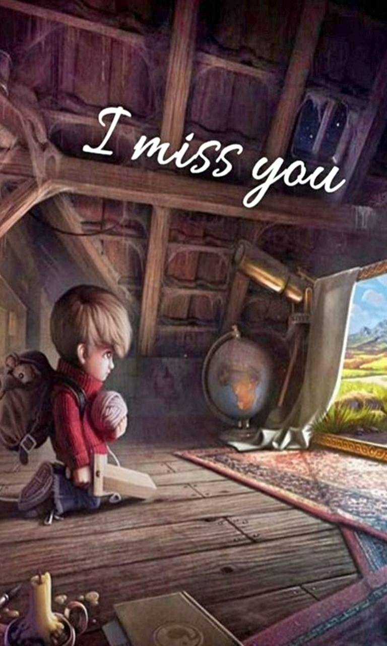 Free I Miss You.jpg phone wallpaper by twifranny