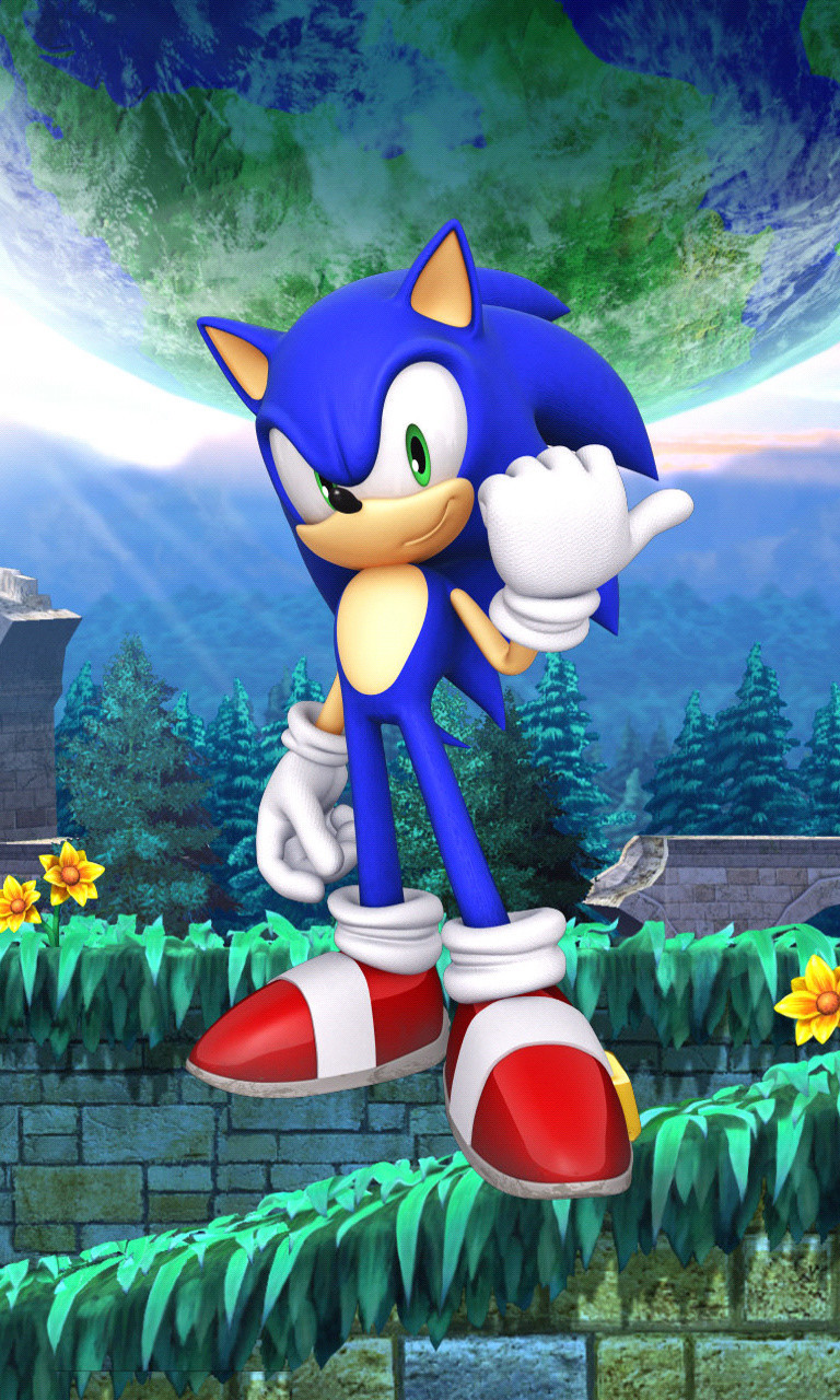 Free Sonic the Hedgehog.jpg phone wallpaper by twifranny